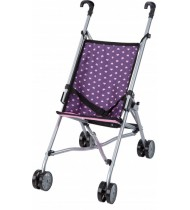 Dolls Buggy 55 cm paars