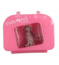 hond Gorgeous in koffer 7 x 6 cm