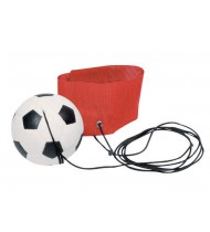 Voetbal Aan Armband: Rood 6,3 cm