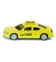 Amerikaanse taxi Dodge Charger geel (1490)