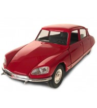 auto Citroën DS 1973 pull-back 1:34-39 staal rood