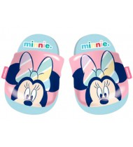 badslippers Minnie Mouse rubber roze/blauw mt 28-29
