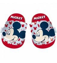 badslippers Mckey Mouse rubber blauw mt 28-29