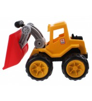 loader Exquisite Touch 23 cm geel/rood