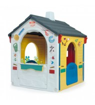 speelhuis Country Playhouse E-Learning 121 cm wit